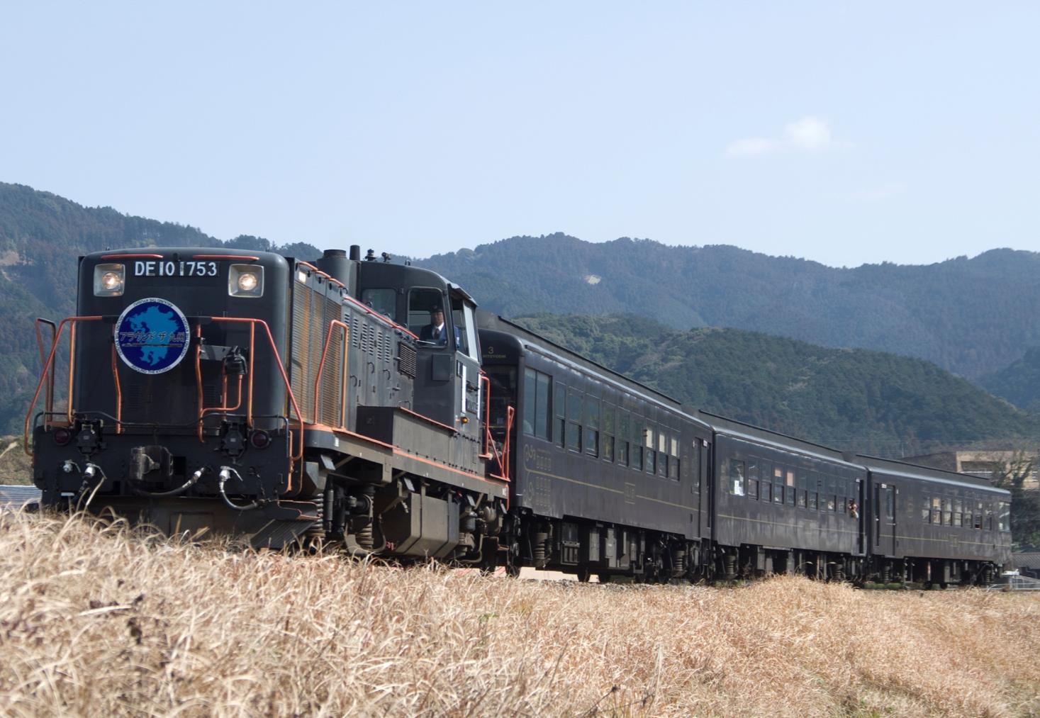 SL人吉の客車で行く日田彦山線の旅(イメージ)