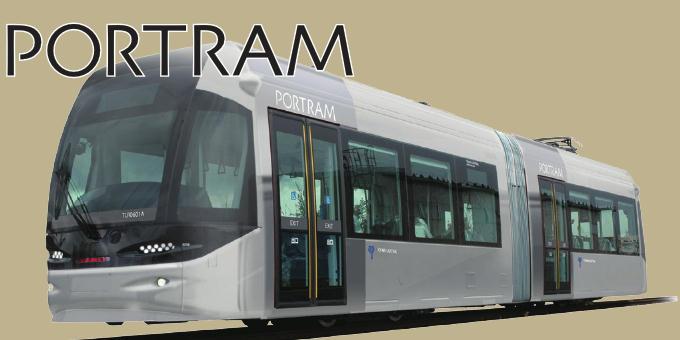 ポートラム新車両(イメージ)