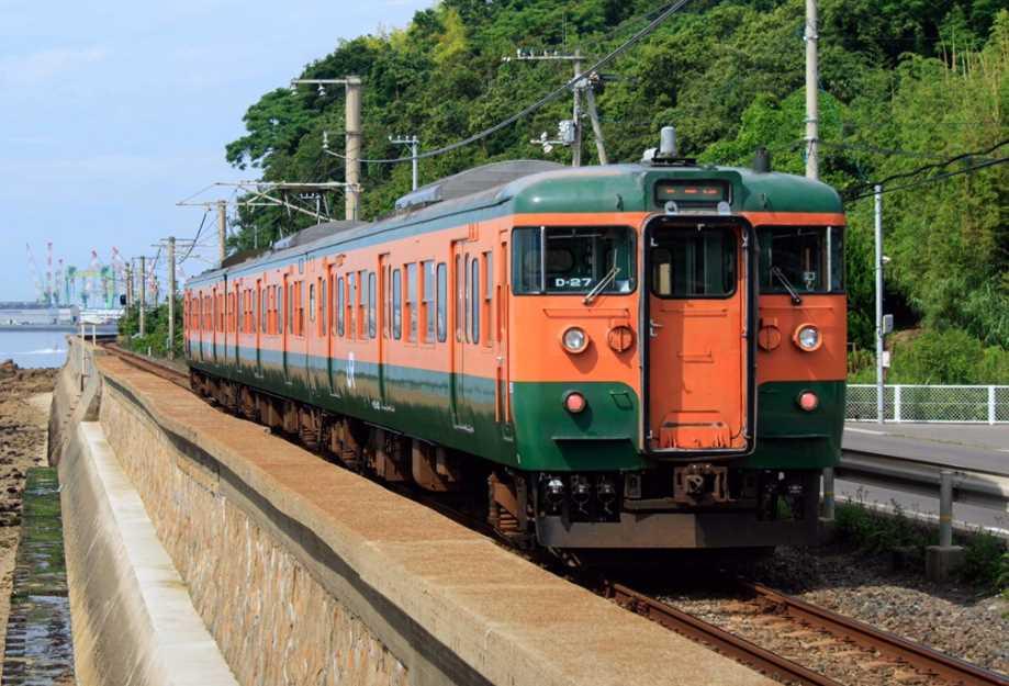 岡山電車区の115系(イメージ)
