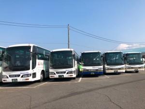 バス車両展示(イメージ)