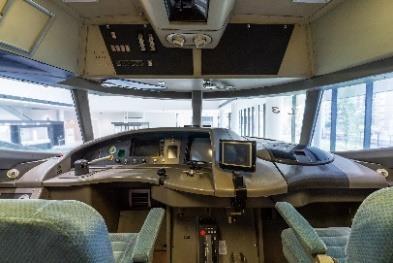 400系運転室