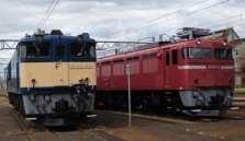 EF64(左)、EF81(右)
