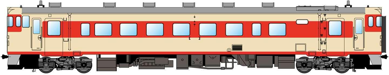旧国鉄急行形塗色車両(イメージ)
