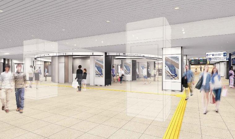 京成上野駅コンコース(リニューアル後イメージ)