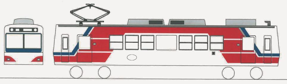 三陸鉄道カラー車両(イメージ)