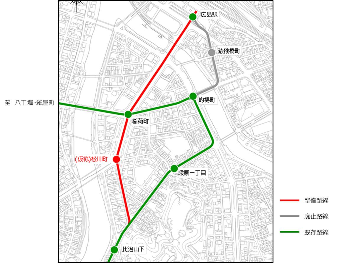 新ルート路線図