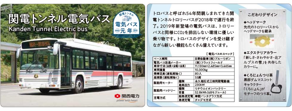 電気バスカード(イメージ)