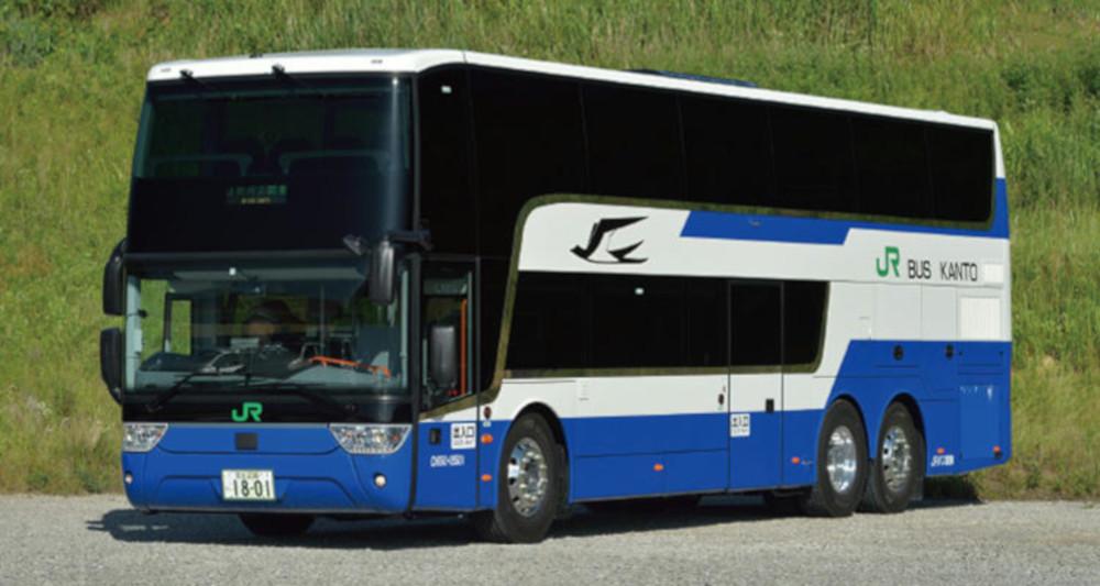 スカニア製2階建てバス