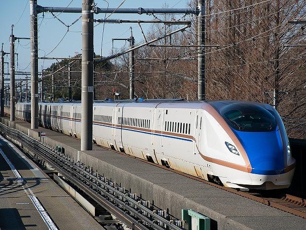 北陸・上越新幹線で活躍するE7系