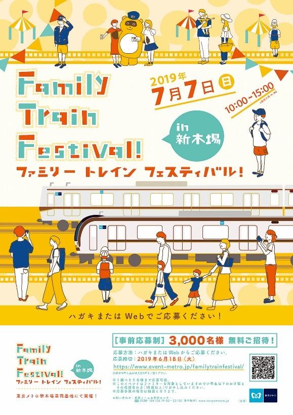 Family Train Festival!in新木場