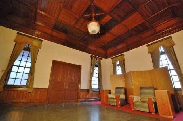 旧二条駅舎貴賓室(公開イメージ)