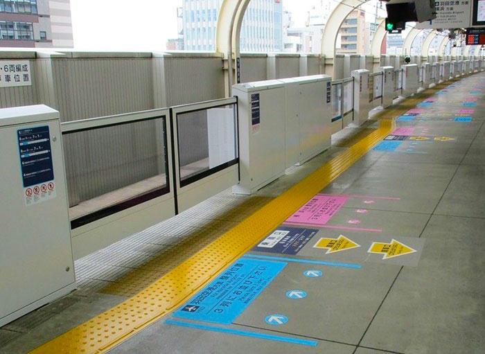 京急蒲田駅1番線ホームドア