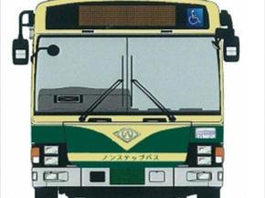 レトロカラーバス(イメージ)
