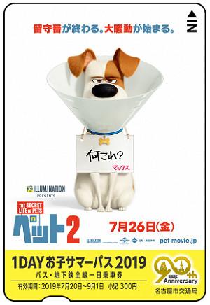 1DAYお子サマ―パス2019(イメージ)
