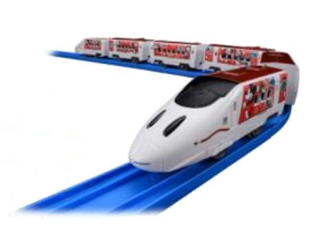Waku Waku Trip 新幹線ミッキーマウス&ミニーマウスデザインプラレール