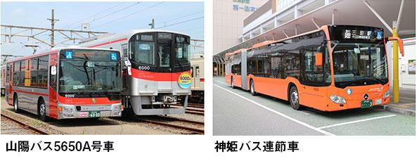 展示用バス車両