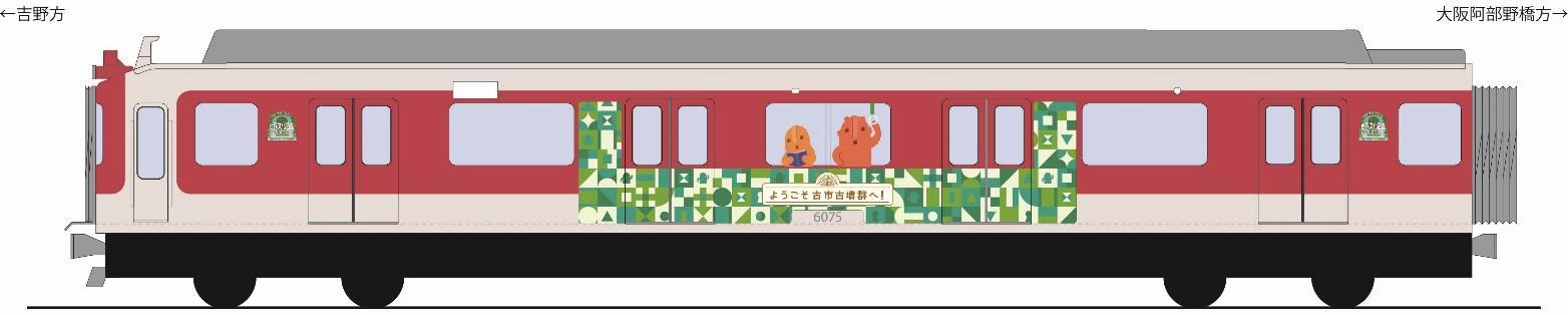 こふん列車(イメージ)