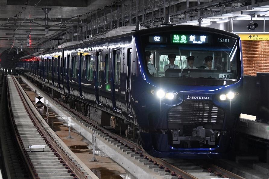 相鉄・JR直通線用12000系