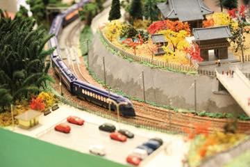 鉄道模型走行展示(イメージ)
