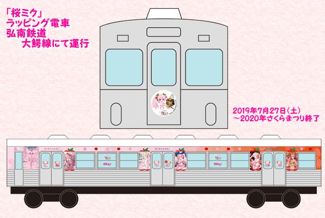 ラッピング電車(イメージ)