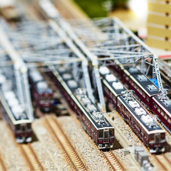 8000系模型展示(イメージ)