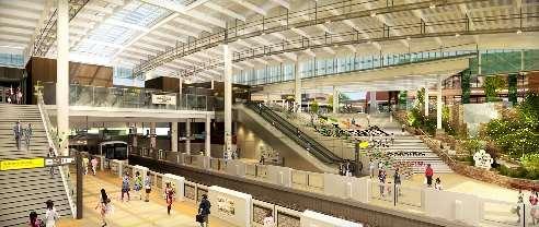 南町田グランベリーパーク駅リニューアル後イメージ