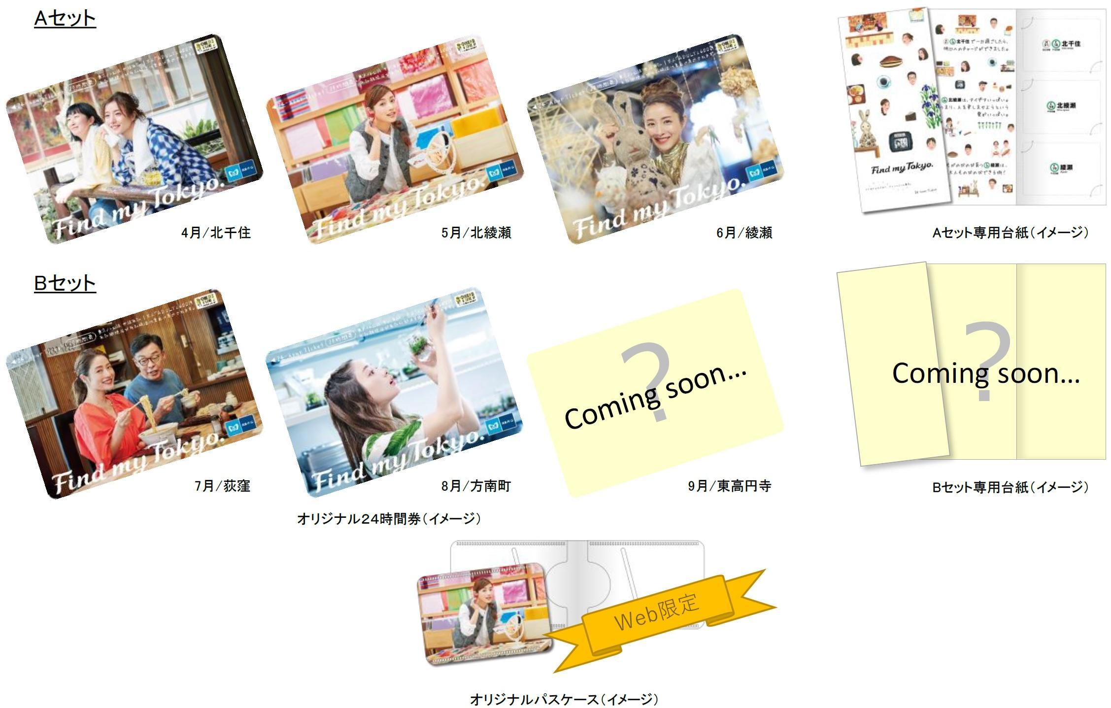 Find my Tokyo. 24時間券セット(イメージ)