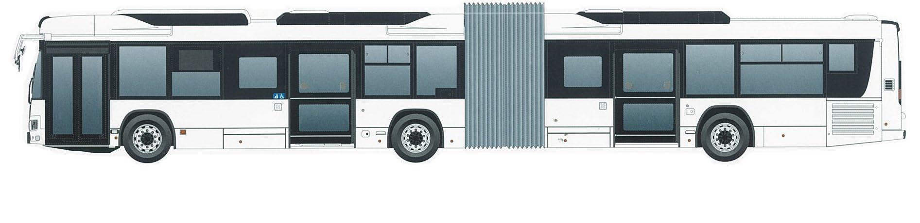 連節バス(イメージ)