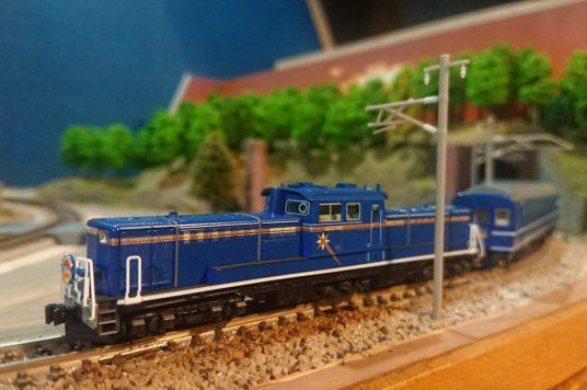 鉄道模型展示(イメージ)