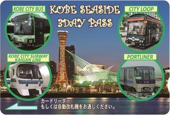 3day PASS(券面イメージ)