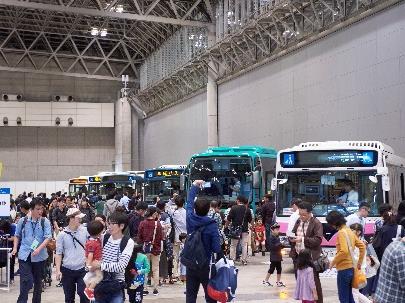 京成バスお客様感謝フェスティバル(2018年の様子)