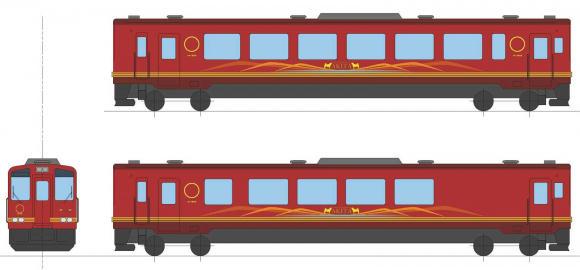観光列車(外観イメージ)