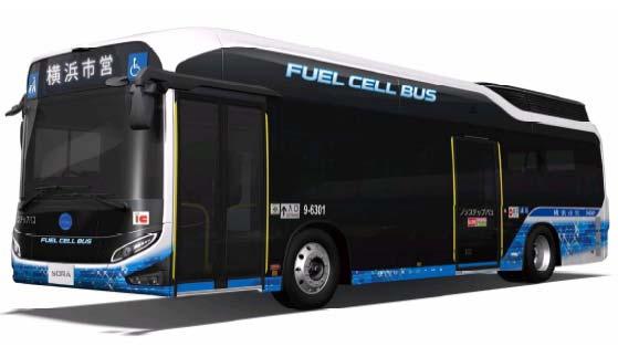 燃料電池バス(イメージ)