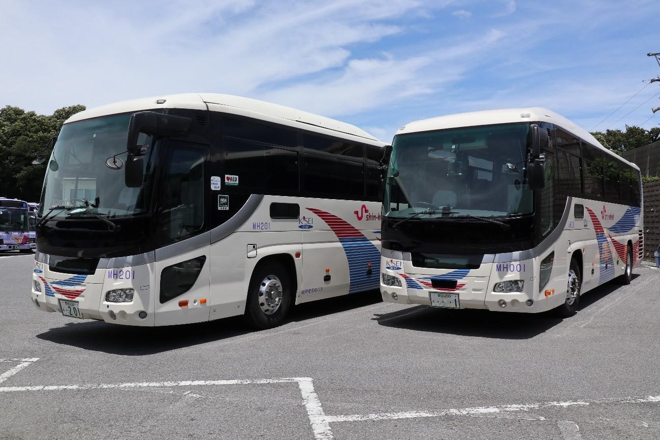 バス車両見学会(イメージ)