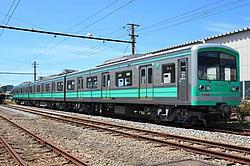 伊豆箱根鉄道 大雄山線 ミントスペクタクルトレイン 運転