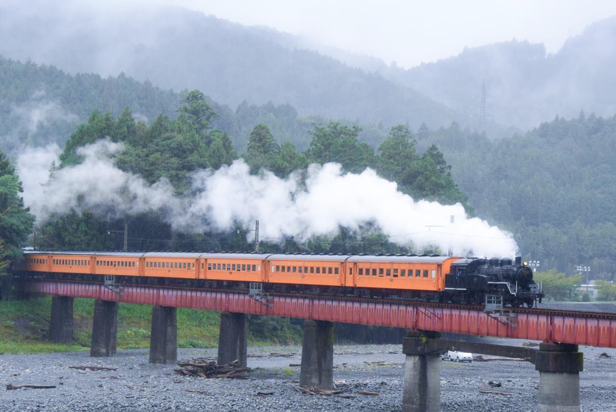 大井川鐵道のSL列車(イメージ)