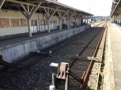 酒田駅貨物ホーム