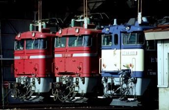 電気機関車展示(イメージ)
