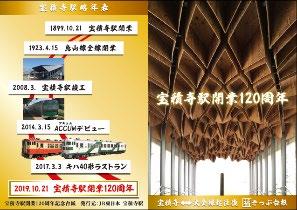 往復乗車券記念台紙(イメージ)