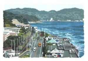 江ノ電カレンダー(イメージ)