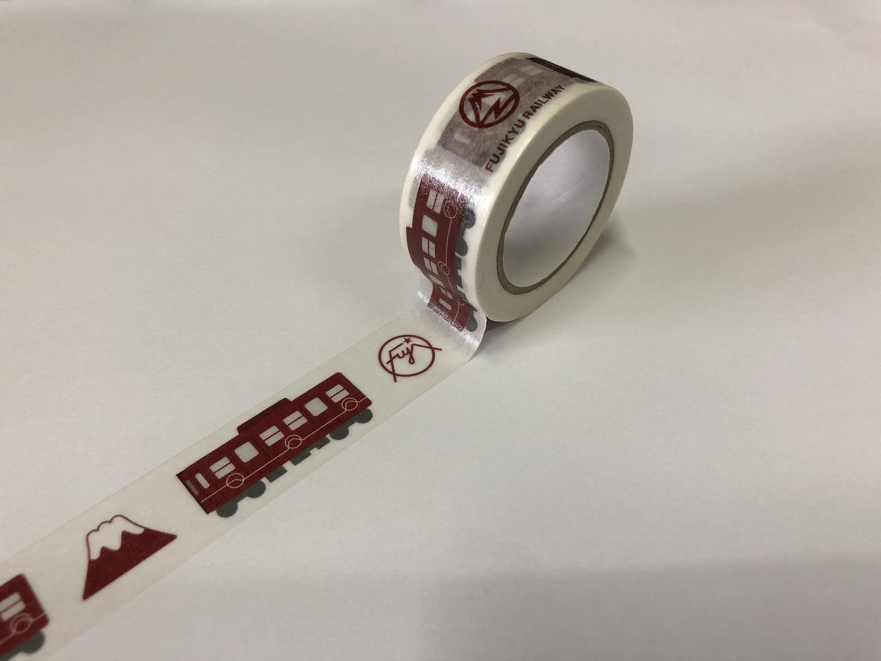 富士登山電車マスキングテープ