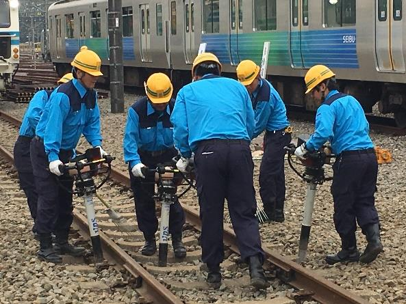 線路復旧訓練(イメージ)