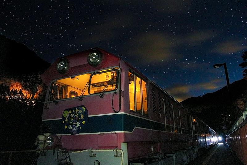 星空列車(イメージ)