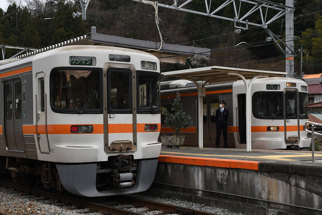 身延線の列車(イメージ)