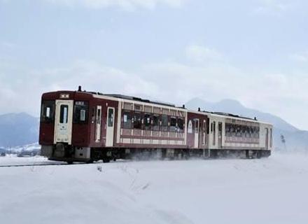 いいやま雪まつり号(イメージ)