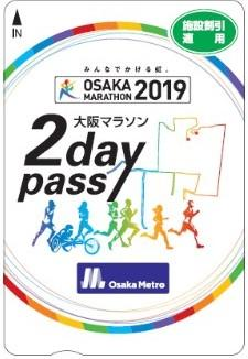 大阪マラソン2day pass(券面イメージ)