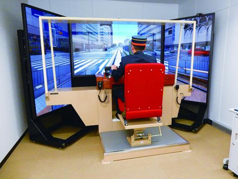 電車運転シミュレーター(イメージ)