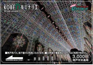 記念Uラインカード(イメージ)