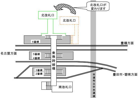 知立駅概略
