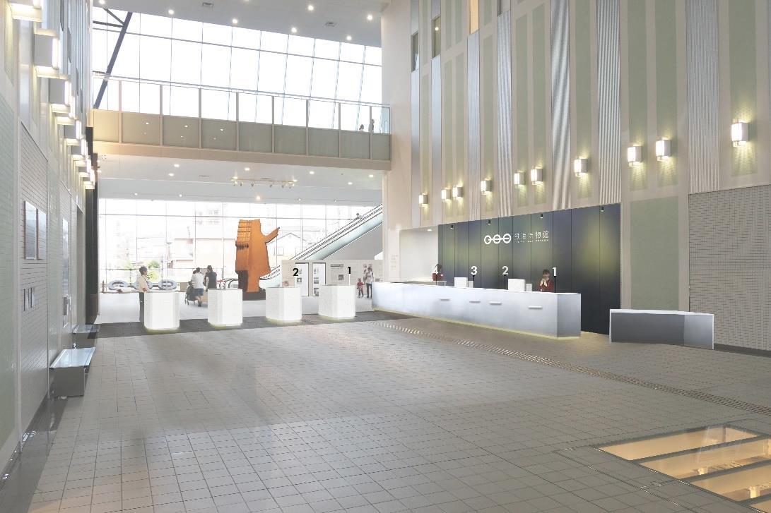 新入館ゲート(イメージ)